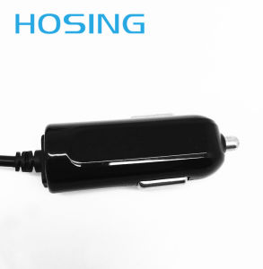 Mini Car Charger with Inbuilt Cable for Samsung iPhone pictures & photos