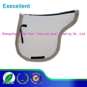 High Quality Quilted Tc Fabric Horse Saddle Pad pictures & photos