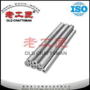 Threadingtungsten Cemented Carbide Endmill Rods with One or Two Holes pictures & photos