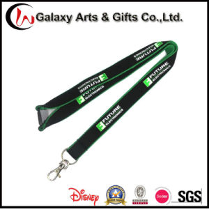 Double Polyester Custom Printed Lanyard with Breakway Buckle pictures & photos