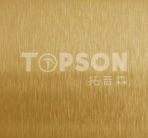 201 304 316 Steel Product Stainless Steel Sheet with Satin Colored for Decoration pictures & photos