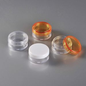 10ml Small Mini Plastic Cosmetic Jar pictures & photos