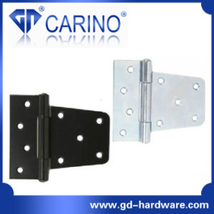 Stainless Steel Zinc Plated T Type Hinge (HY821) pictures & photos