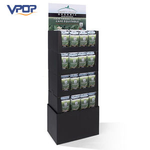 POS Bag Coffee Display Stand for Trade Show Exhibition