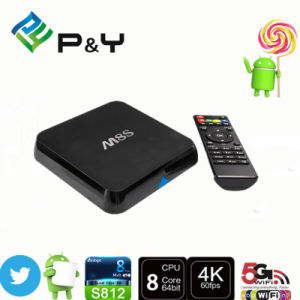 2016 M8s Amlogic S812 Android5.1 Smart TV Box Qbox 2 GB / 8 GB WiFi 4k Mini PC Set Top Box pictures & photos