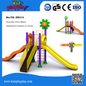 Children Games Climbing Playground Small Outdoor Slide for Kids Hot Sales pictures & photos