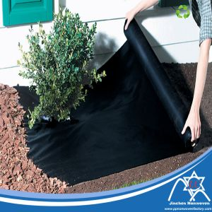 Black Spunbonded Nonwoven Garden Fabric for Weed Mat pictures & photos