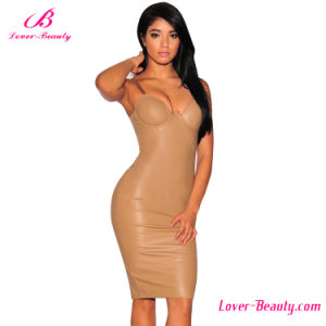 Sheath MIDI Bodycon Bustier Women Dress