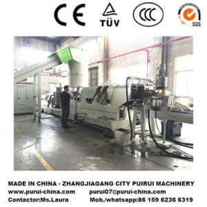 Energy Saving Plastic Recycling Extruder for BOPP Film Regrind pictures & photos