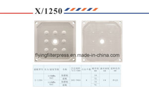 1250mm PP Membrane Filter Plate 16 Bar pictures & photos