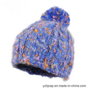 Beanie Hat Knit Hat POM POM Knitted Hat Beanie Hat pictures & photos