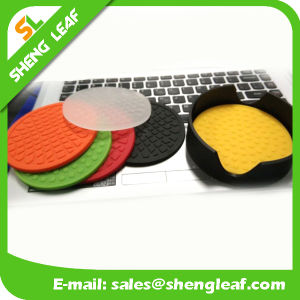 Cup Coaster Plastic Rubber Have Patent Ready Sample From China pictures & photos