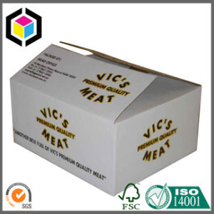 Flexo Logo Print Corrugated Cardboard Meat Packaging/ Shipping Box pictures & photos