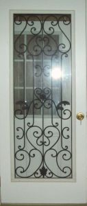 Entry Room Glass/Residential Steel Door pictures & photos