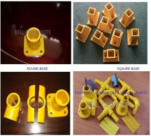 Pipe Fittings, FRP/GRP Pultrusion System, Fiberglass Pipe Connectors. pictures & photos