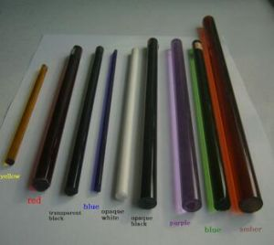 Clear and Colorized Borosilicate Glass Rod pictures & photos