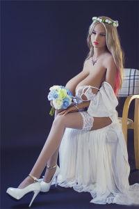 156 Huge Fat Breast Big Nipples TPE Skeleton Sex Dolls pictures & photos