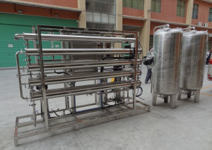 4000L/H Industrial Ce Approved RO Water Filter/Reverse Osmosis Membrane Machine pictures & photos