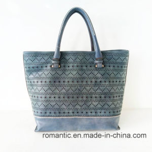 Wholesale Fashion Women PU Laser Handbags with Bag Set (NMDK-051002) pictures & photos
