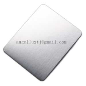 Good Drawing Quality 201 Grade Satin Stainless Steel No. 4 Finish Sheet for Kitchen Utensils Cabinet Material pictures & photos