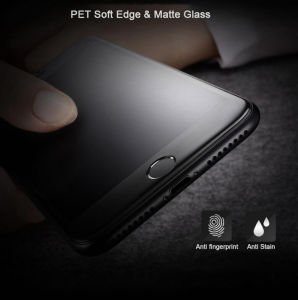 3D Full Covered Matte Anti-Glare Nano Electroplated Coating Toughened Glass Membrane for iPhone pictures & photos