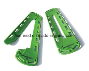 Seperated Plastic Backboard Scoop Stretcher pictures & photos