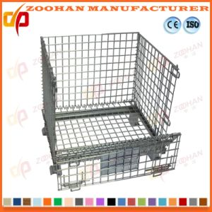 Steel Locking Ball Storage Cart Container Wire Mesh Cage (Zhra20) pictures & photos