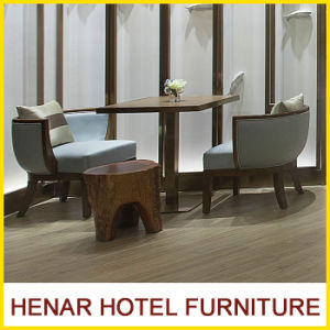 Chinese Modern 5 Stars Wooden Hotel Furniture Cafe Table and Chair pictures & photos