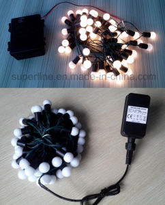 Outdoor Waterproof Home Decorative Holiday Party Deco LED String Lights with Round Bulb pictures & photos