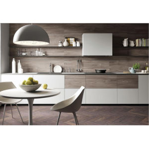 Whole Sale Modern White Linear Kitchen Cabinet Furniture Kitchen Cabients pictures & photos
