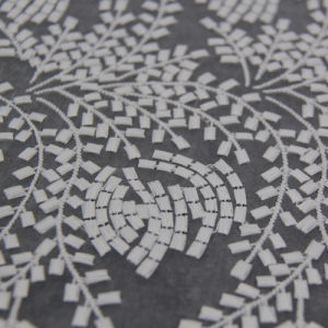 Organza Embroidery Fabric --Samll Flower pictures & photos