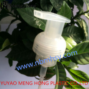 40mm Fine Plastic Foam Pump with Clear Cover or Lock Switch pictures & photos