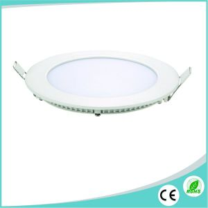 Factory Price 6W Slim Round LED Ceiling Light Panel pictures & photos