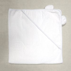 Wholesale 100% Cotton Plain Color Hooded Poncho Baby Towel pictures & photos