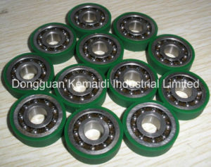 6001zz Bearing Lining with Polyurethane Rubber pictures & photos