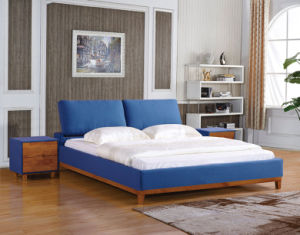 Modern Solid Wood Bedroom Furniture pictures & photos