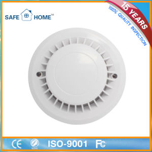 Wired Photoelectric Fire Alarm Heat Smoke Detector for Home Security pictures & photos
