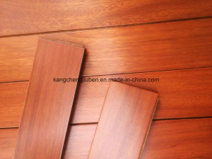 Anti-Scratch Solid Mora Hardwood Flooring/Wood Flooring pictures & photos