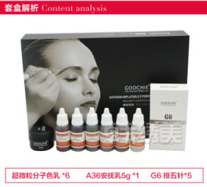 Goochie Permanent Make up Eyebrow Tattoo Pigment Kit pictures & photos