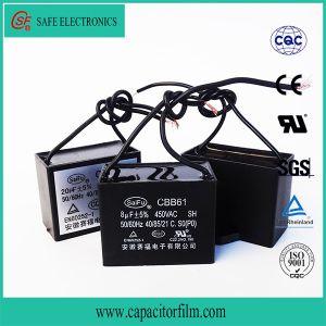 Cbb61 AC Motor Start Fan Capacitor pictures & photos