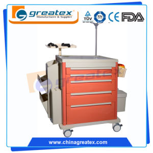 China Factory Sale Cost ABS Emergency Medical Trolley (GT-TAQ501) pictures & photos