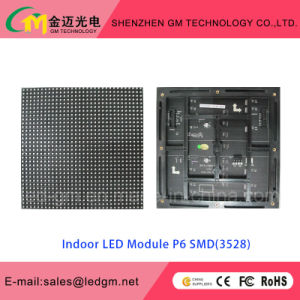 Indoor Full Color P6 Fixed Install LED Display with Low Factory Price pictures & photos