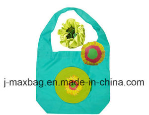 Foldable Gifts Shopper Bag for Flowers Sunflower Style, Reusable, Lightweight, Grocery Bags and Handy, Accessories & Decoration, Promotion pictures & photos
