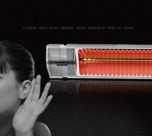 1500W Portable Remote Control Quartz Infared Halogen Patio Heater pictures & photos