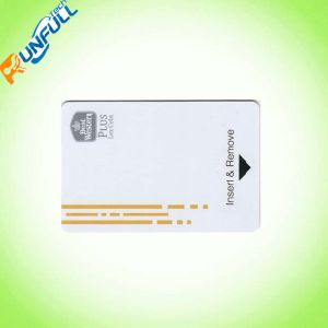 PVC Hotel Key Cards/Access Control Card with Magnetic Stripe pictures & photos