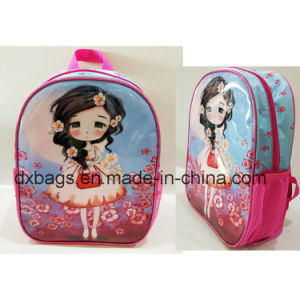 New Design Sateen Gril Child School Bag pictures & photos