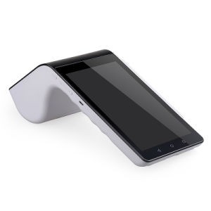 7 Inch Android POS Barcode Scanner PT-7003 with Built in Thermal Printer pictures & photos