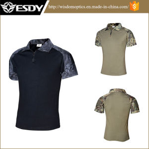 Military Army Python Camouflage Airsoft Tactical T Shirt New Design pictures & photos