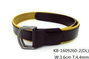 New Fashion Men PU Woven Belt (KB-1609260-2)