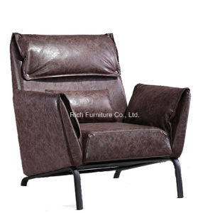 High Back Leisure Sofa Chair with Armrest pictures & photos